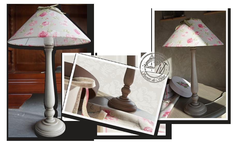 Tapisserie d ameublement atelier secrets de si ge for Lampe de chevet anglais