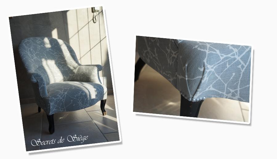 Tissu Rayé Atelier Secrets De Siège - Formation decorateur interieur avec fauteuil a oreille design