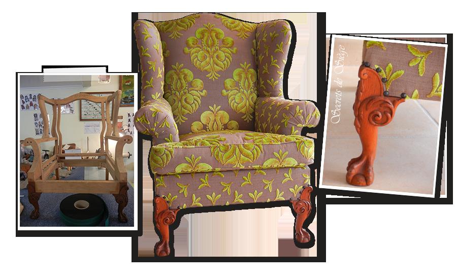 Tapissier Décorateur Gignac Atelier Secrets De Siège - Formation decorateur interieur avec fauteuil a oreille design