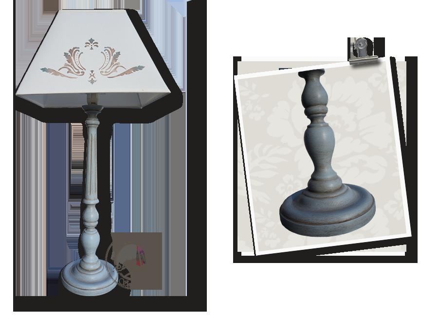 Atelier-secrets-de-siege-pied-lampe-patine-bleue