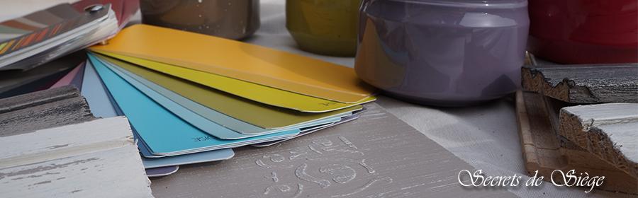 Image d'effets décoration avec de la patine, relooking de meuble, pochoirs, peinture par Atelier Secrets de Siège