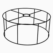 Abat-jour Cylindrique plat