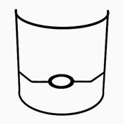 Abat-jour applique demi cylindre