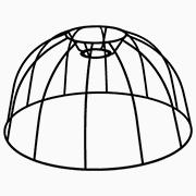Abat-jour Dome