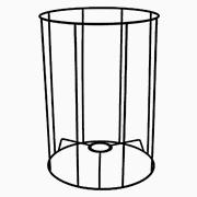 Abat-jour Cylindrique haut